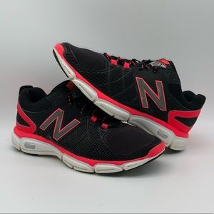 New Balance 813 Running Shoes Black/Pink Size 7.5